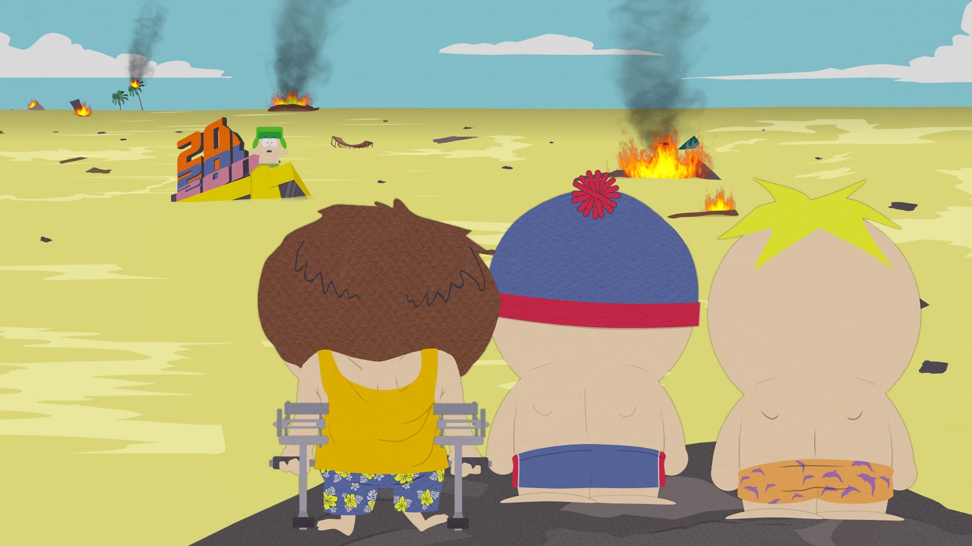 South park sexual healing handkerchief picture